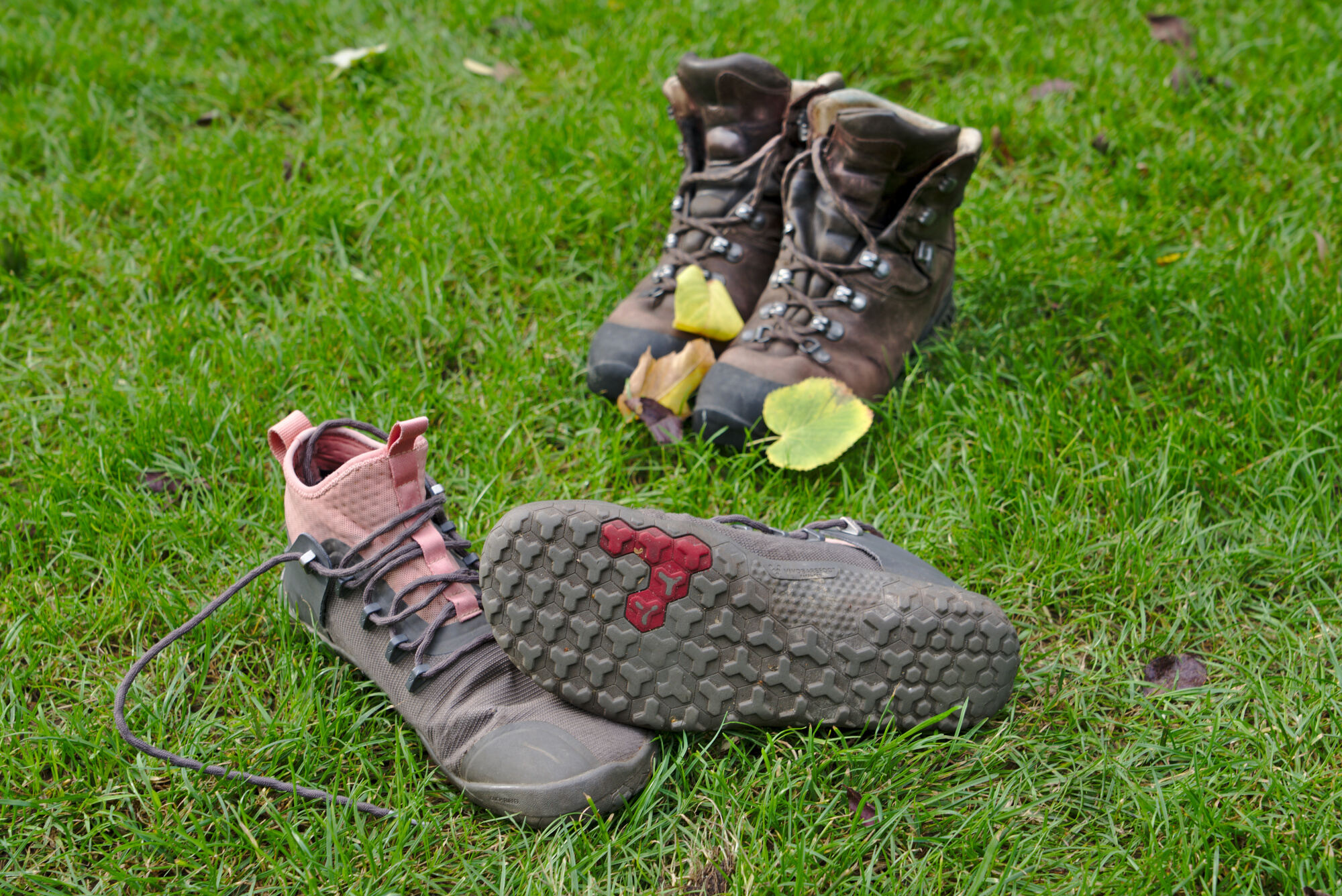 Barefoot shoes long-term test - One